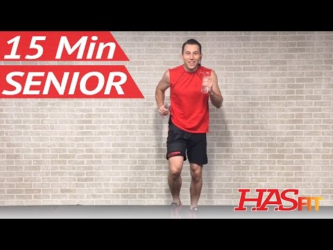 15 Minute Senior Workout - Low Impact Exercises for Seniors Elderly Men & Women Older People