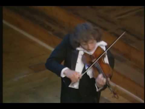 Paganini - Caprice no.15, Alexander Markov, violin [HD]