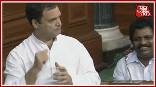Rahul Gandhi Says Defence Minister Nirmala Sitharaman Lied To The Nation; Defence Minister Protests - AAJTAKTV