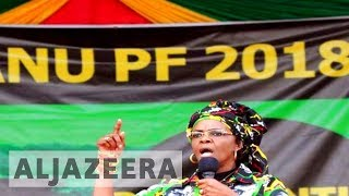 Grace Mugabe granted immunity after leaving S Africa - ALJAZEERAENGLISH