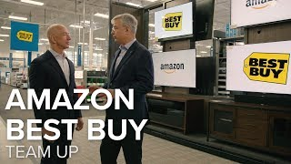 Amazon, Best Buy become BFFs to sell Fire TVs - CNETTV