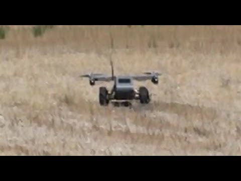 OFFICIAL VIDEO: Panther UAV/UGV Flight Test