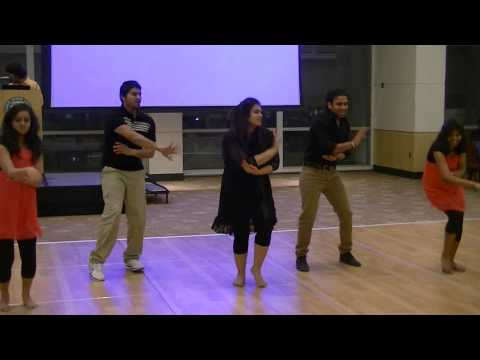 Indian modern dance by Bhargavi and Group