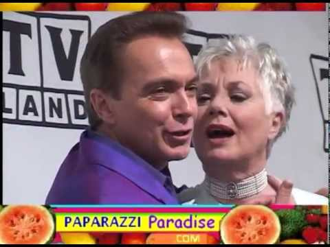 DAVID CASSIDY reunites with SHIRLEY JONES at TV Land Awards