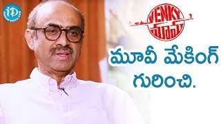 Producer Suresh Babu About Making Venky Mama | Talking Movies With iDream - IDREAMMOVIES