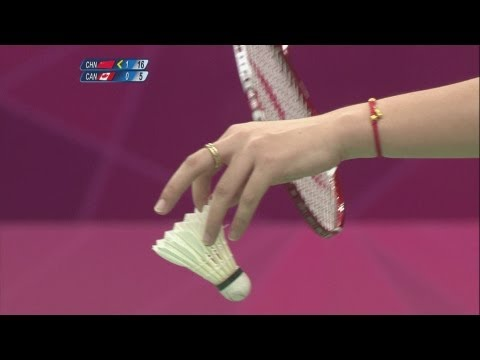 Badminton Women's Doubles Group Stage - Group A - China v Canada - London 2012 Olympic Games