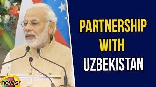 PM Modi Says India is Committed to strengthen Strategic Partnership with Uzbekistan | Mango News - MANGONEWS