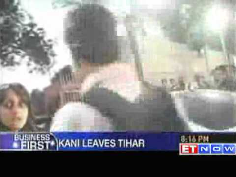 2G scam Kanimozhi released from Tihar Jail