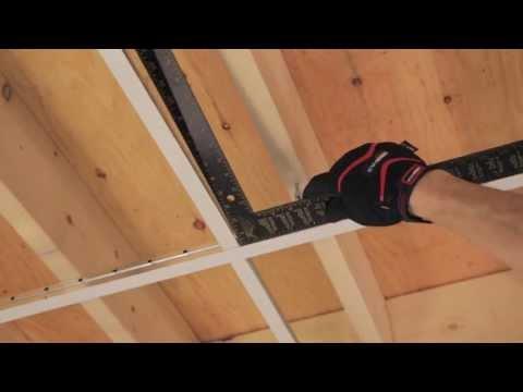 RONA - Comment poser un plafond suspendu