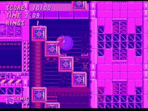 Sonic se afogando.