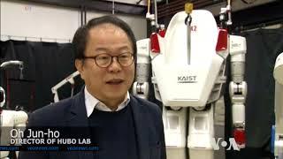 Riding a 270-kilogram Walking Robot - VOAVIDEO