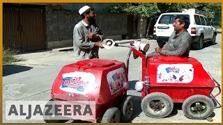 🇦🇫 Business freezes for Kabul ice-cream carts after unrest | Al Jazeera English - ALJAZEERAENGLISH