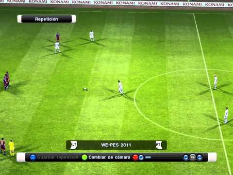 gol cristiano ronaldo pes 2011 tiro libre 38 mts