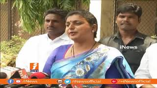 YCP MLA Roja Slams Chandrababu | Over Buggana Rajendranath Meet BJP Leaders | iNews - INEWS