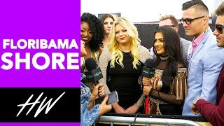 FLORIBAMA SHORE Cast Plays Kiss, Marry or Friendzone at the MTV Movie Awards !! - HOLLYWIRETV