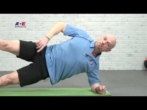 Side Plank with Stability Ball + Progressions with Jonathan Ross