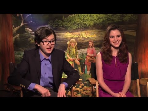 Jared Gilman and Kara Hayward Talk 'Moonrise Kingdom'