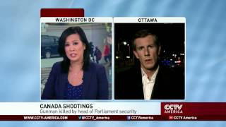 See the news report video by Gunman in Ottawa shootings named