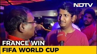 Chennai Fans Celebrate, Croatia Has Won Our Hearts In Defeat Many Say - NDTV