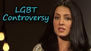 Celina Jaitly talks about the LGBT controversy - ZOOMDEKHO
