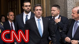Michael Cohen drops libel suits against Fusion GPS and Buzzfeed - CNN