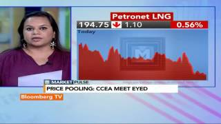 Market Pulse: CCEA Meet Today On Gas And Coal Price Pooling - BLOOMBERGUTV