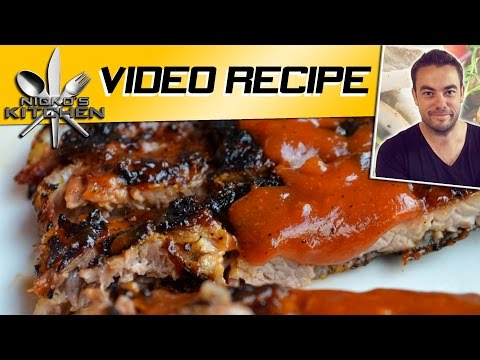 BBQ PORK RIBS - VIDEO RECIPE
