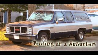Royalty Free :Riding in a Suburban