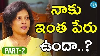 Actress Disco Shanti Exclusive Interview Part #2 || Talking Movies With iDream - IDREAMMOVIES