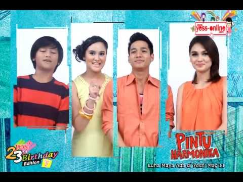 Photo Cover Luna Maya & Para Pemain Film Pintu Harmonika @AnekaYESSmagz