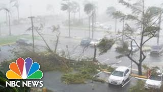 Hurricane Maria Pummels Puerto Rico With Powerful Winds | NBC News - NBCNEWS