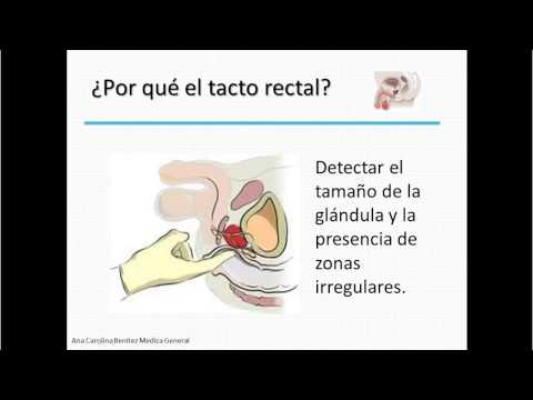 Examen cancer de prostata // Prostate Cancer Test