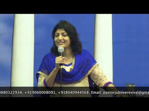 4-6-14 Bible Study on Sanctification by Pastor Pramila Jeyaraj