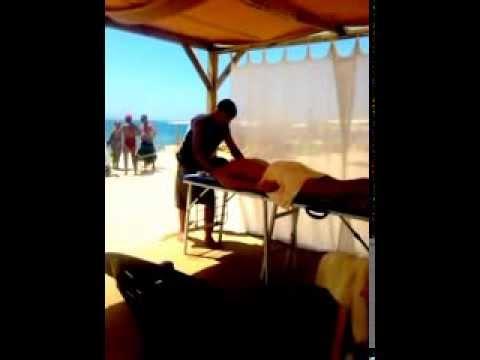 Massagem na Praia - Armação de Pêra - Algarve - Portugal