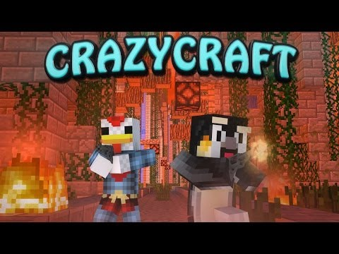 Minecraft | CrazyCraft - OreSpawn Modded Survival Ep 77 -