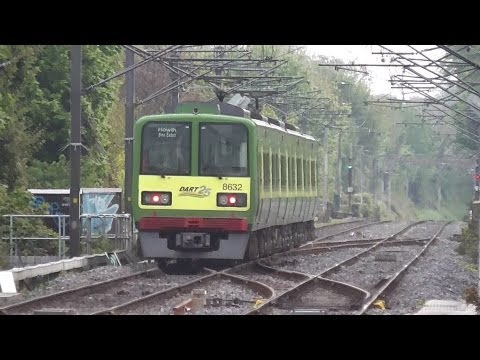 8520 Class DART Train number 8632 - Clontarf Road Station