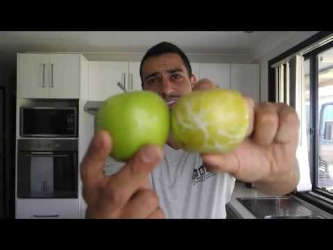 Dont eat another apple until you watch this !!!!!!!