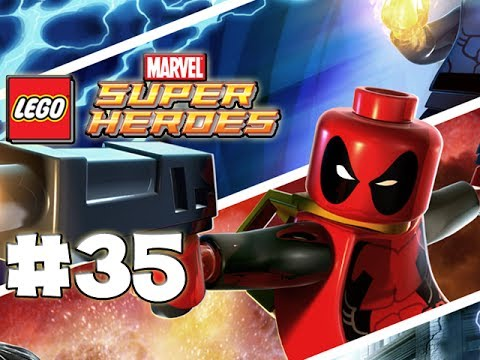 LEGO Marvel Superheroes - LEGO BRICK ADVENTURES - Part 35 - Rider! (HD Gameplay Walkthrough)