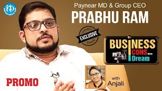 Paynear MD & CSO Prabhu Ram Exclusive Interview - Promo || Business Icons With iDream #10 - IDREAMMOVIES