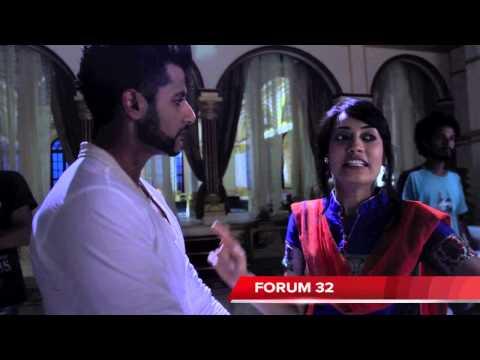 Qubool Hai   BTS   Karanvir Bohra and Surbhi Jyoti Scene