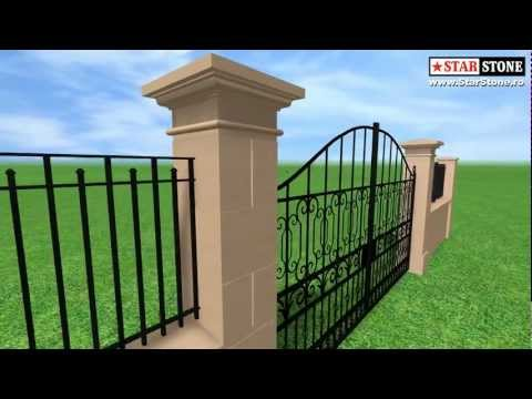 Gard beton, modele gard, model gard pret gard, gard beton garduri gard preturi preturi gard