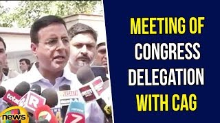 Randeep Singh Surjewala Speech After Meeting of Congress Delegation with CAG | Congress Latest News - MANGONEWS