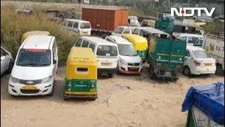 जब्त गाड़ियों को रखने की जगह नहीं - NDTVINDIA