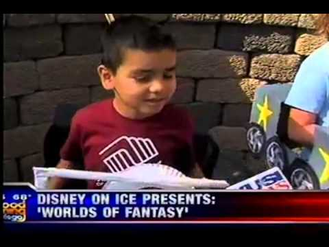 Boys & Girls Clubs Of Greater San Diego Members On KUSI For Disney on Ice