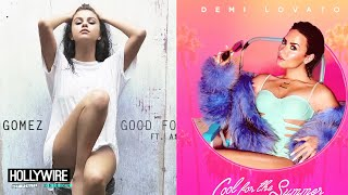 Selena Gomez Vs. Demi Lovato: BEST SUMMER JAM!? - HOLLYWIRETV