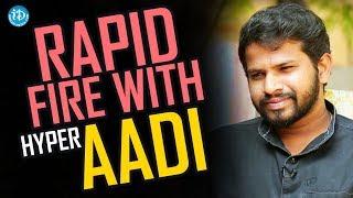 I Wish To See Pawan Kalyan As CM - Hyper Aadi || Anchor Komali Tho Kaburlu - IDREAMMOVIES