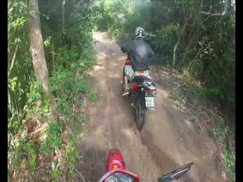 Teste drive off-road Shineray 150
