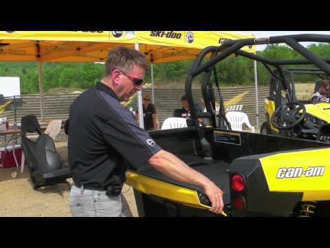 Can-Am Commander UTV Engineering Part 2 - Checking out the Commander 1000 UTV from CanAM