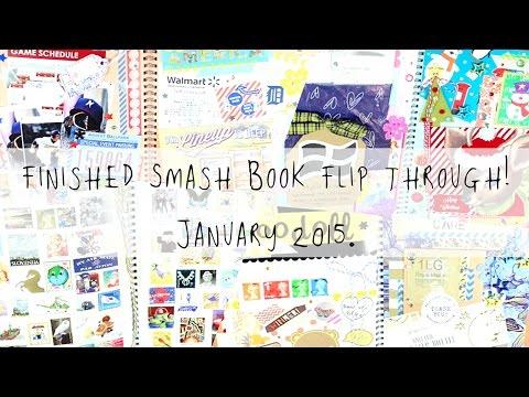 Как сделать smash book