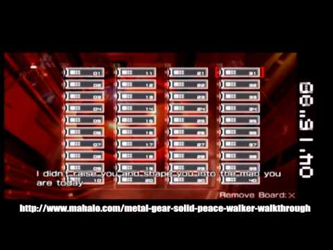 Metal Gear Solid: Peace Walker Walkthrough - Level 25- Peace Walker Battle 2- Part 2/2